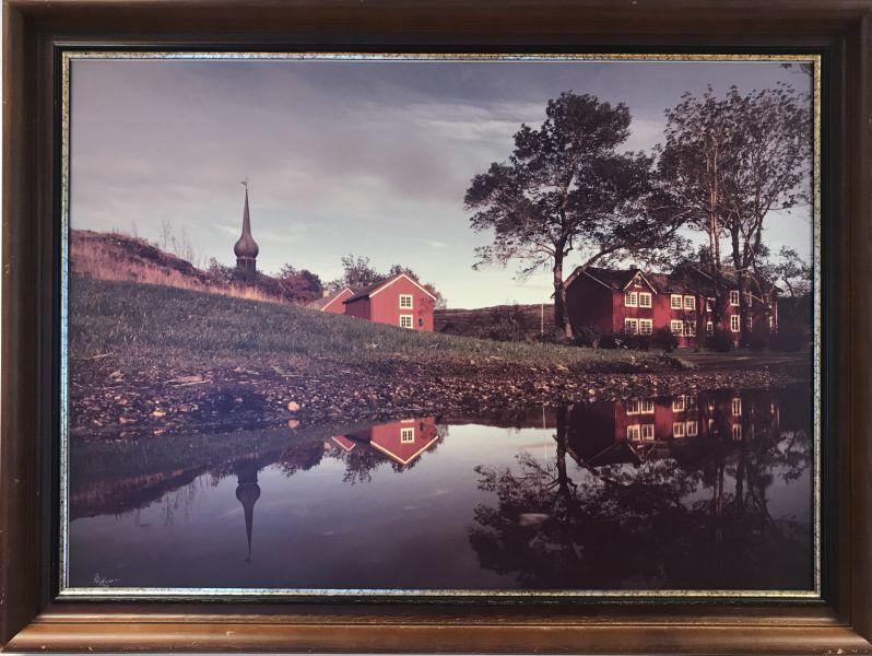 Knut Ebbesen - Alstahaug kirke og prestegård