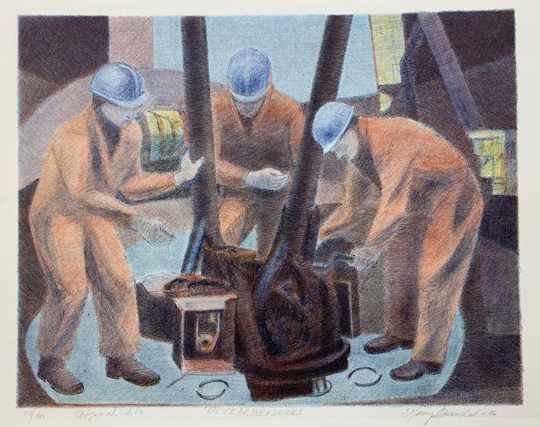 Henry Bardal - Oljearbeidere