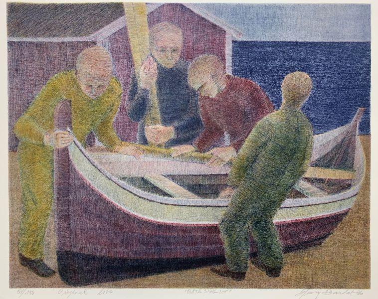 Henry Bardal - Båten skal ut