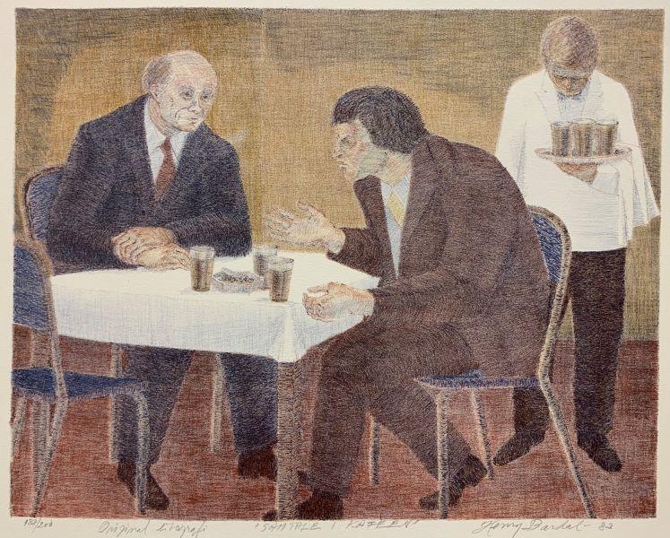 Henry Bardal - Samtale i kafeen