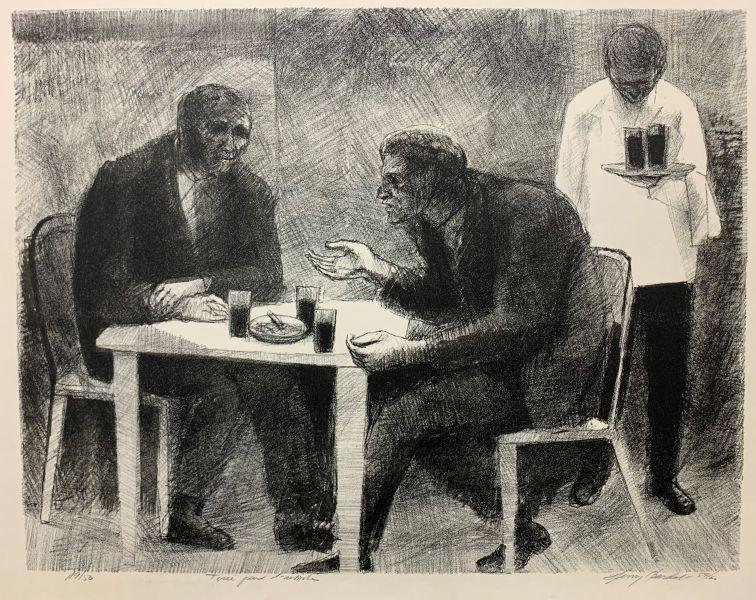 Henry Bardal - Samtale i kafeen / Den tredje gjesten